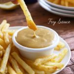 This Homemade Fry Sauce is so good with chicken nuggets or tenders, delicious with fries!