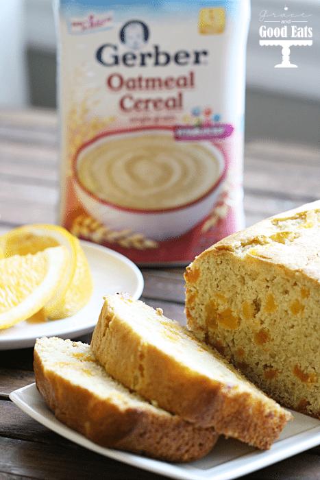 gerber oatmeal bread
