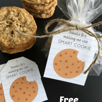 Teacher Appreciation: Smart Cookie Free Printable