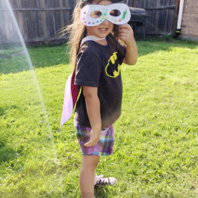 Super Hero Mask: Free Printable