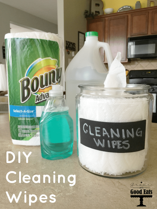 Diy Cleaning Wipes Grace And Good Eats
