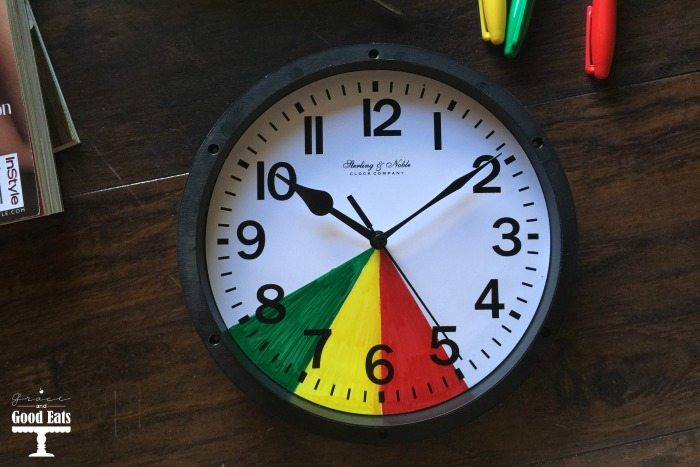 DIY Toddler Ok To Wake Clock