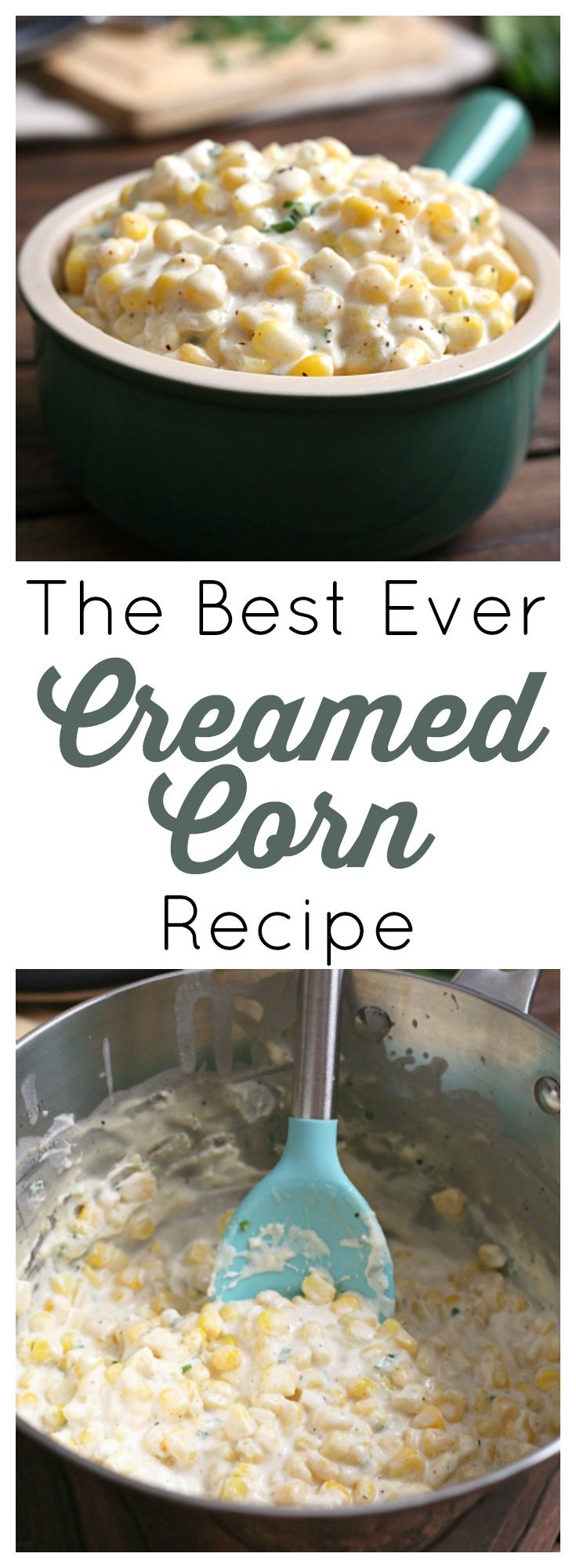 This creamed corn side dish is the perfect balance of sweetness and spice.Don't skimp on the fat, just embrace this indulgent treat of creamy, buttery, super sweet corn for what it is!