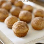 Easy one-bowl muffins rolled in cinnamon sugar. Perfect recipe to keep on hand for breakfast guests or busy mornings!