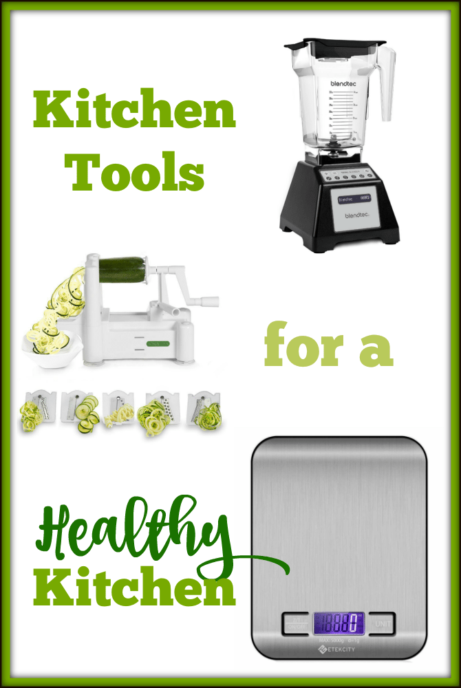 My most used kitchen tools for healthy eating!