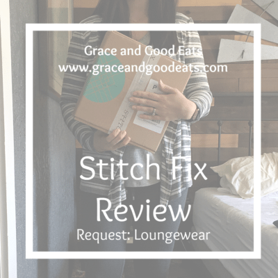 Stitch Fix Review: Loungewear