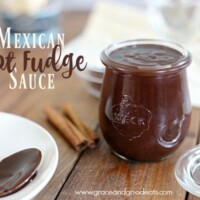 Make this delicious Mexican Hot Fudge Sauce at home and you will never buy it from the store again!