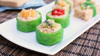 Kid-Friendly Fruit Sushi