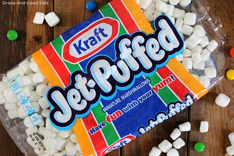 bag of Kraft Jet-Puffed Mini Marshmallows