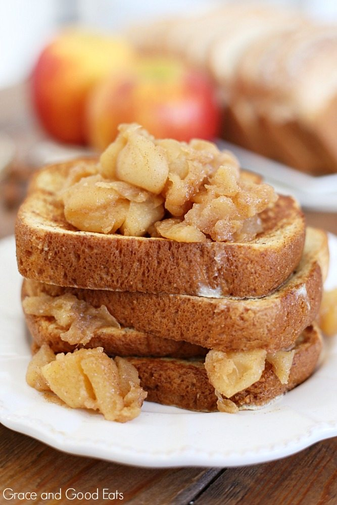 Spice Apple French Toast