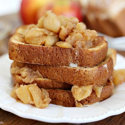 Apple Compote French Toast
