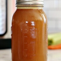 bone broth in a jar