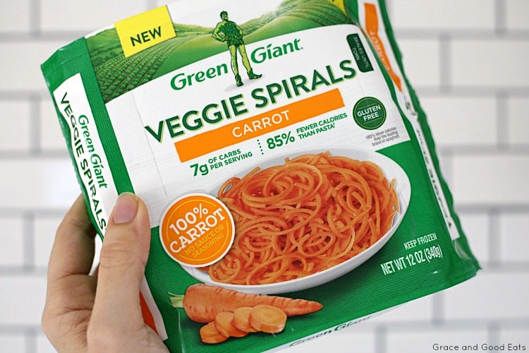bag of Green Giant Veggie Spirals