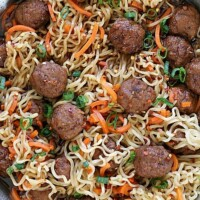 ramen with meatballs