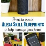 Alexa Skill Blueprints are easy to create and fun for the whole family. We use our Echo for everything from setting our thermostat or robot vacuum, to quizzing with flashcards, to spontaneous pre-bedtime dance parties.