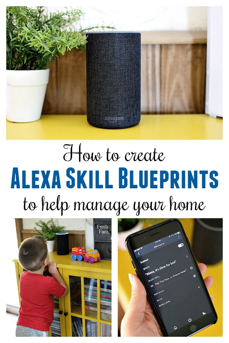 Alexa Skill Blueprints are easy to create and fun for the whole family.  We use our Echo for everything from setting our thermostat and robot vacuum, to quizzing with flashcards, and spontaneous pre-bedtime dance parties.