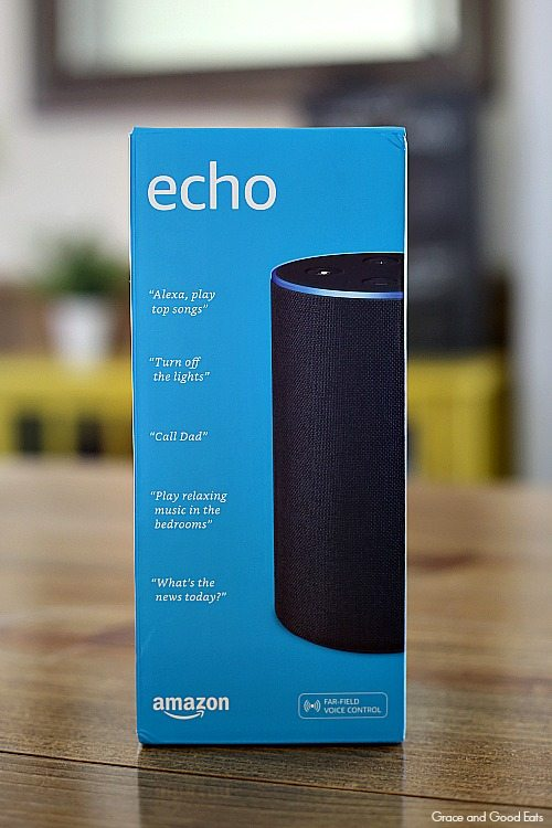 Amazon Echo in the box