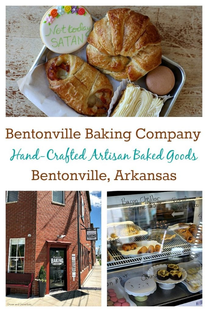 During a recent visit to Northwest Arkansas, I stopped at the Bentonville Baking Company for sweet treats and a quick lunch.  This bakery ended up being one of my favorite parts of the whole trip!