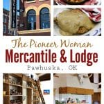 We stopped by The Pioneer Woman Mercantile in Pawhuska, OK on a recent mother-daughter summer road trip. We ate at the restaurant, shopped at the Merc, took a peek in the new Boarding House, and even had the chance to tour the Lodge.