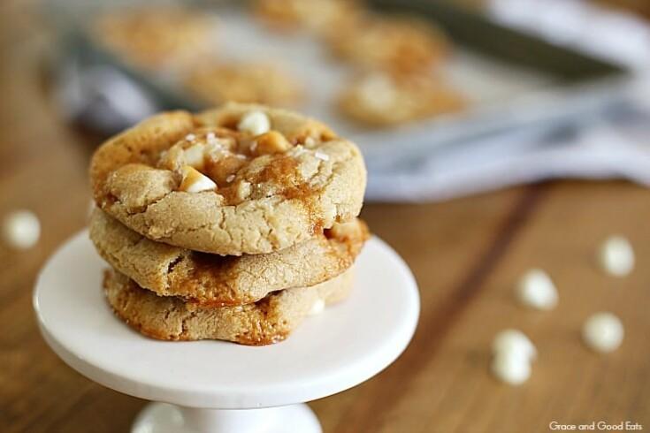 Salted Caramel Cookies