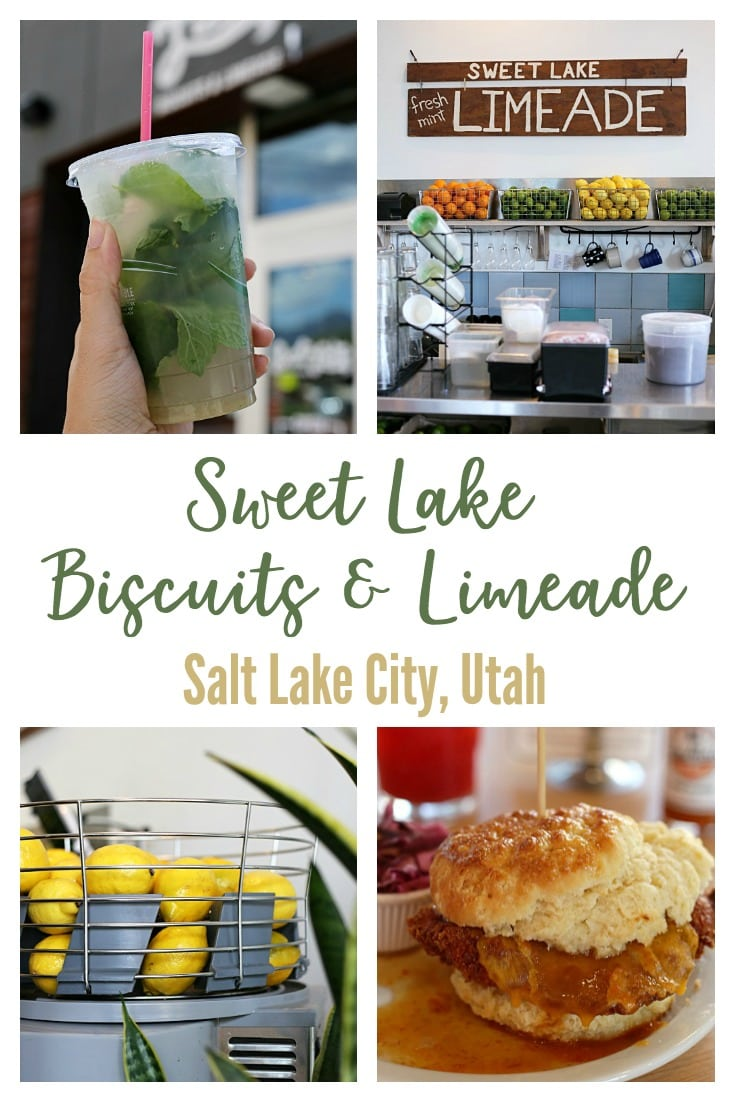 Sweet Lake Biscuits and Limeade in Salt Lake City, Utah serves up hot biscuits, cold limeades, and fresh salads made from local and organic ingredients as often as possible. Go early for breakfast or lunch, you won't be disappointed!