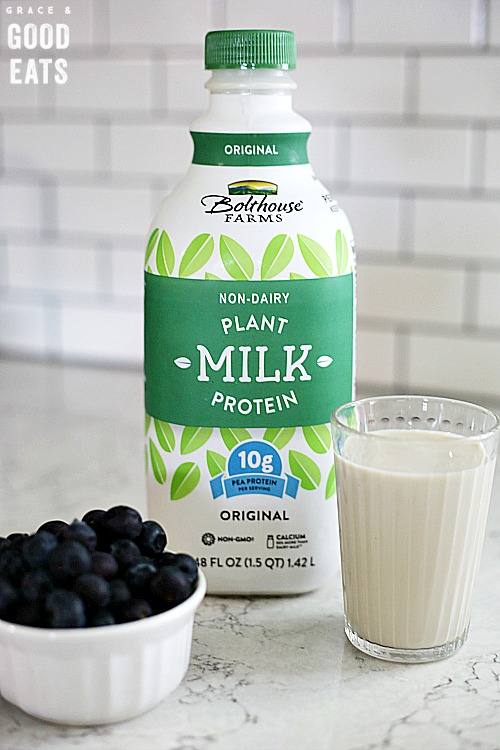 Bottle of Bolthouse Farms Plant Milk Protein