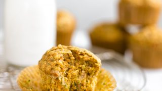 Zucchini Carrot Muffins (Dairy-Free, Toddler Friendly)