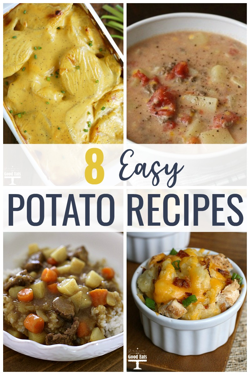 Whether you're looking for hearty dinner, like Loaded Baked Potato Casserole or Italian Chicken, Green Beans, and Potatoes, or a filling side dish, like Cheesy Scalloped Potatoes or Feta Roasted New Potatoes, you're sure to find a winner in this list of recipes with potatoes.