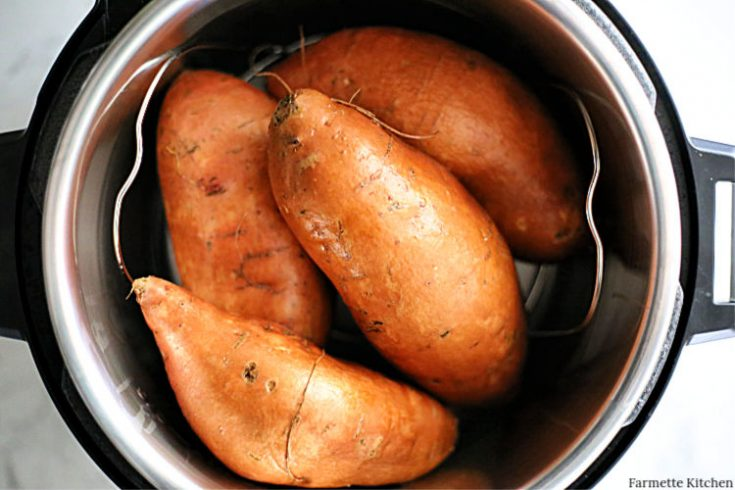 How to Make Pressure Cooker Sweet Potatoes