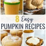 These Easy Pumpkin Recipes are sure to put you in the mood for fall and satisfy any pumpkin spice craving!