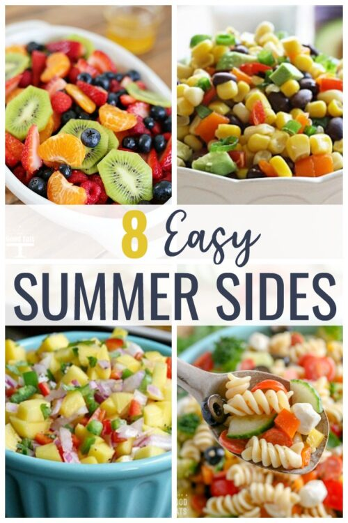 Summer Side Dishes: these salsas and salads are the perfect side dish for your next BBQ or summer gathering.  Most of these recipes are no bake, gluten free, and vegetarian or vegan.