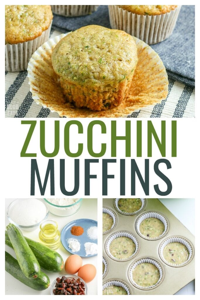 Zucchini Muffins are the perfect way to use up extra zucchini and sneak some veggies into your diet. Shredded zucchini melts into baked goods for deliciously moist breads and muffins.