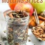 Mulling Spices are a delicious blend of spices used to make drinks such as hot cider, wassail, or mulled wine. Mix up a batch of this simple mulling spices recipe to keep on hand during the fall and winter months!
